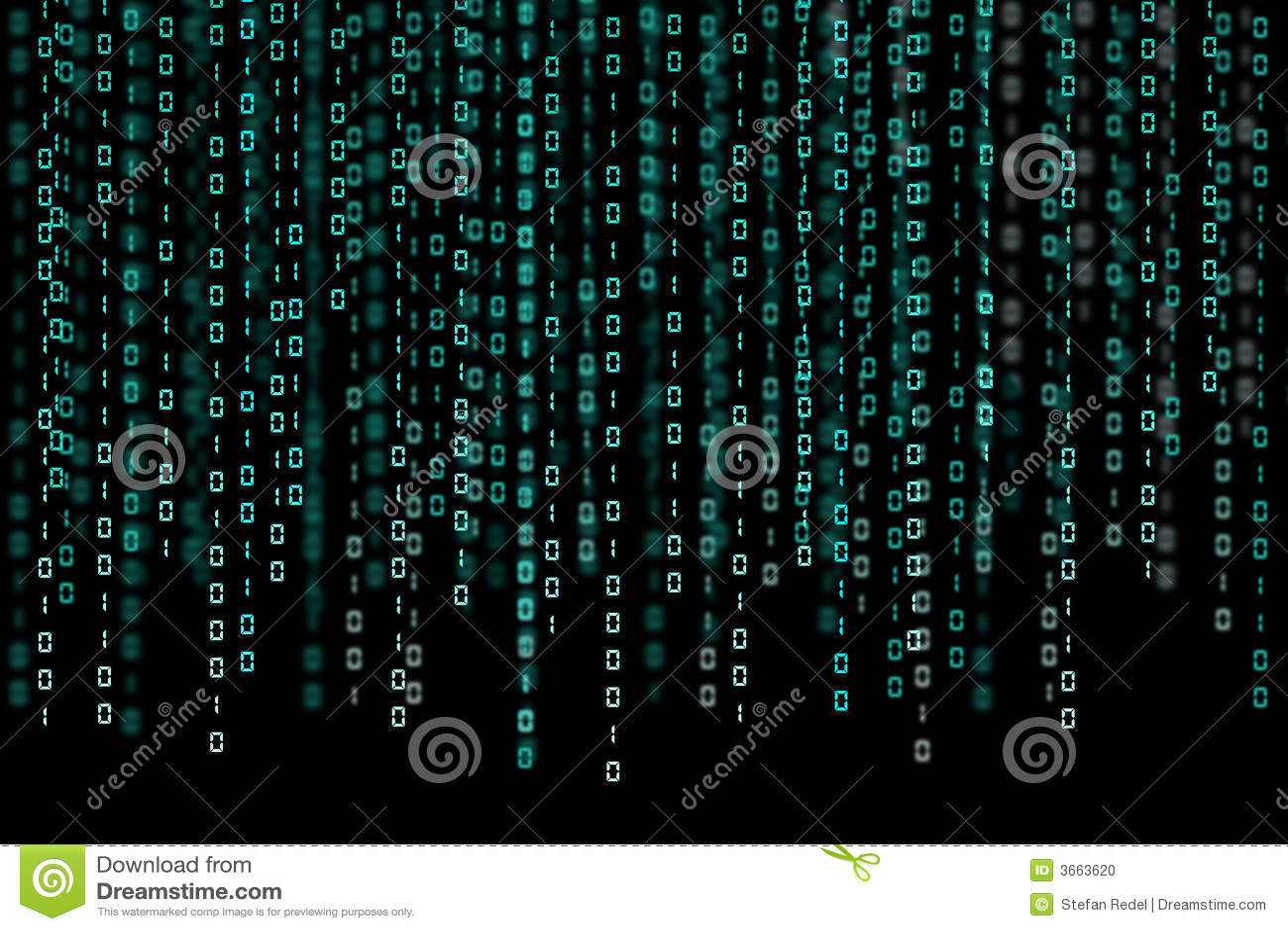 Binary Code Stock Photo - Image: 3663620