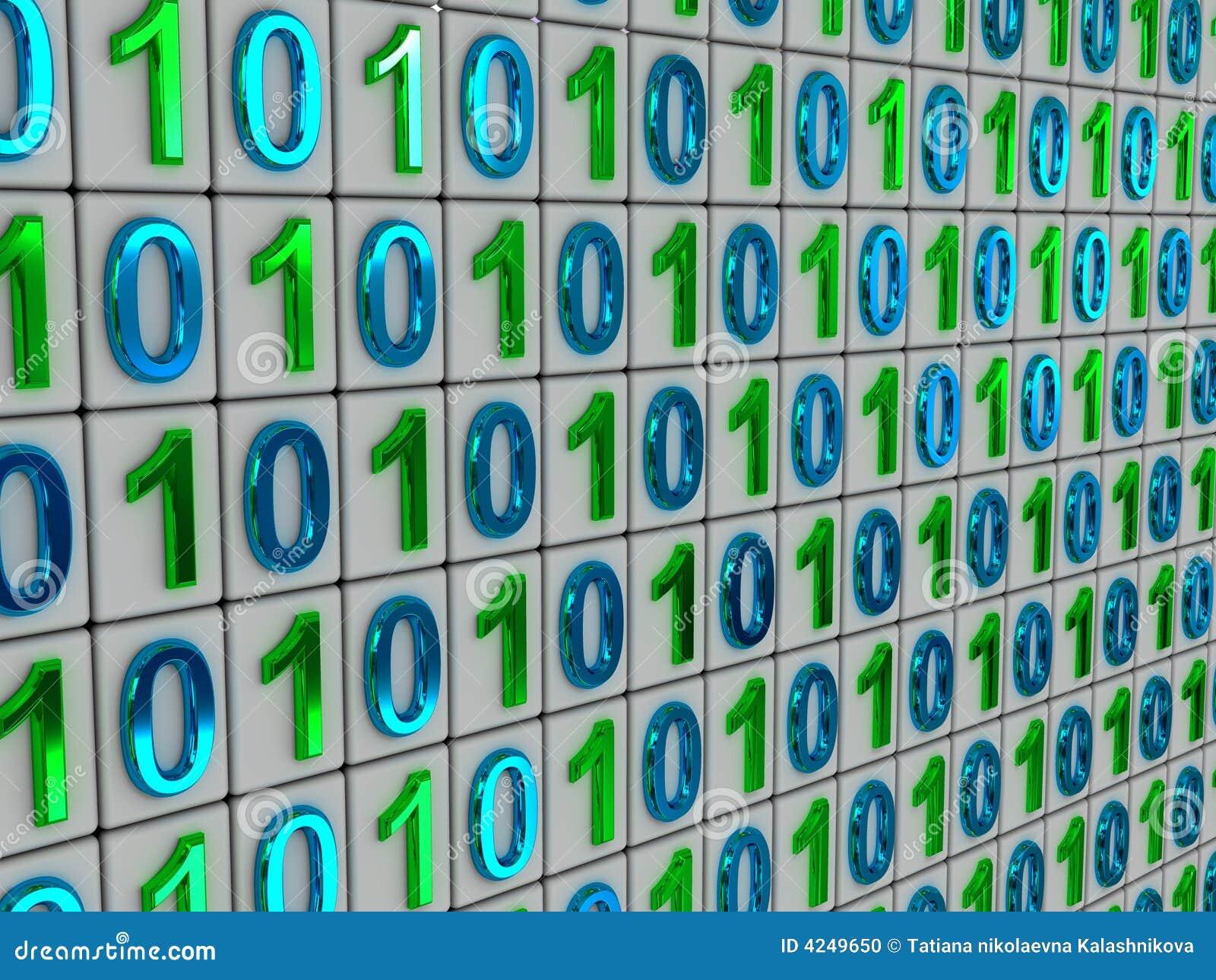 Binary code.