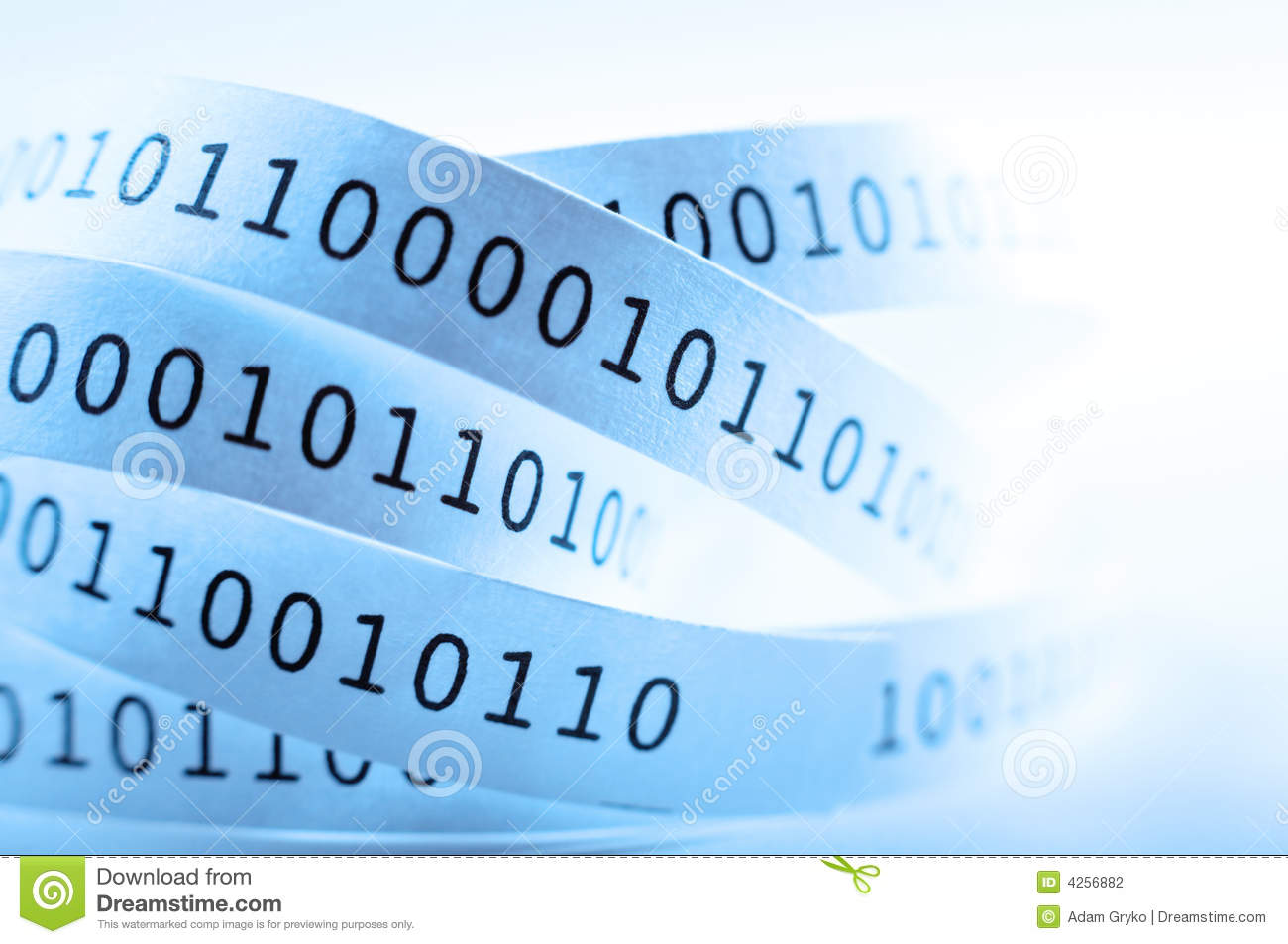 Download Binary code stock photo. Image of concept, order, idea - 4256882