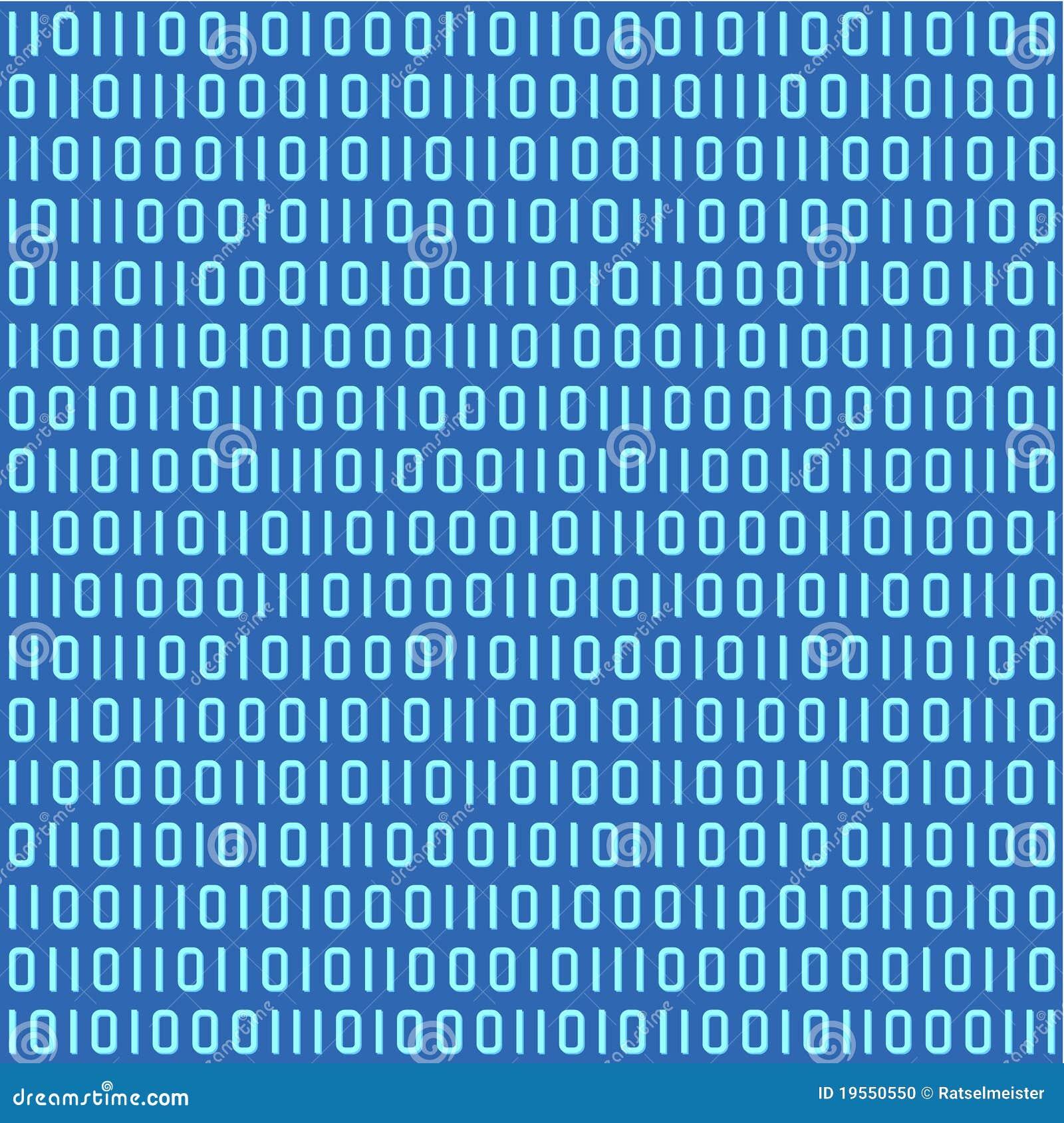 binary code seamless pattern stock photo