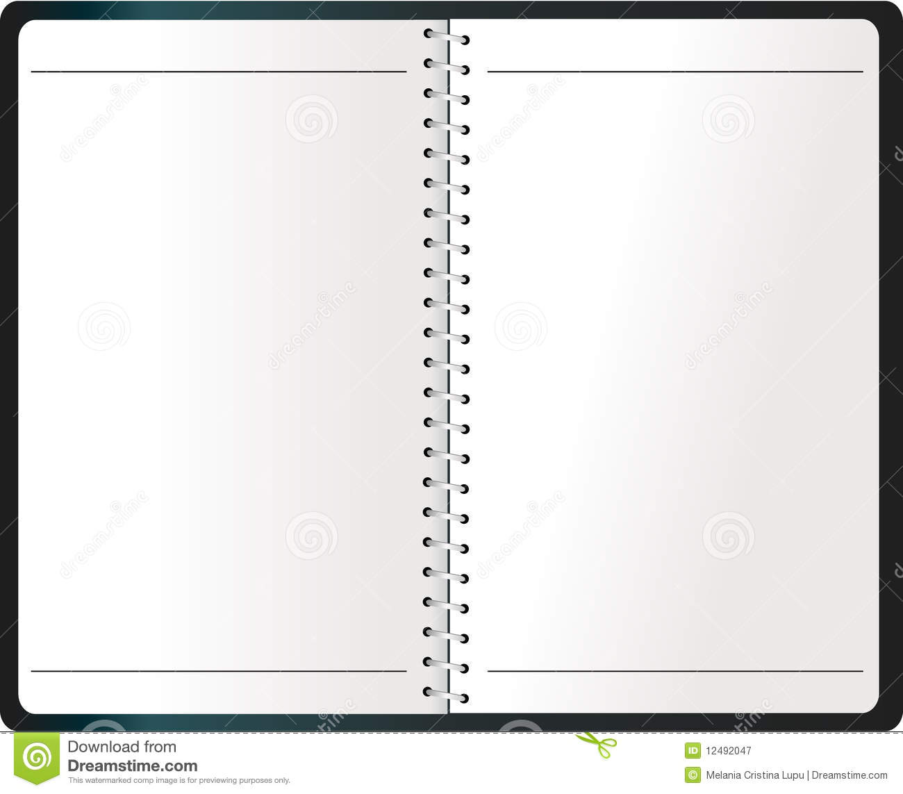 Binding Notebook (Agenda) Vector  Agenda Download Free