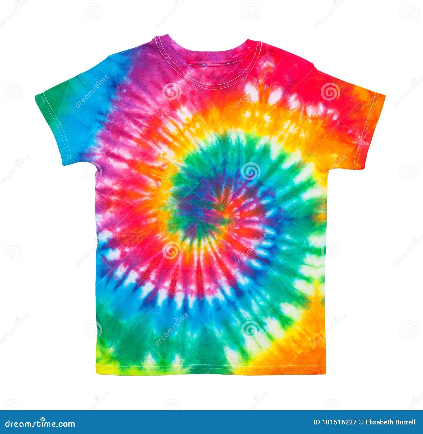 Bindungs-Färbungs-Hemd