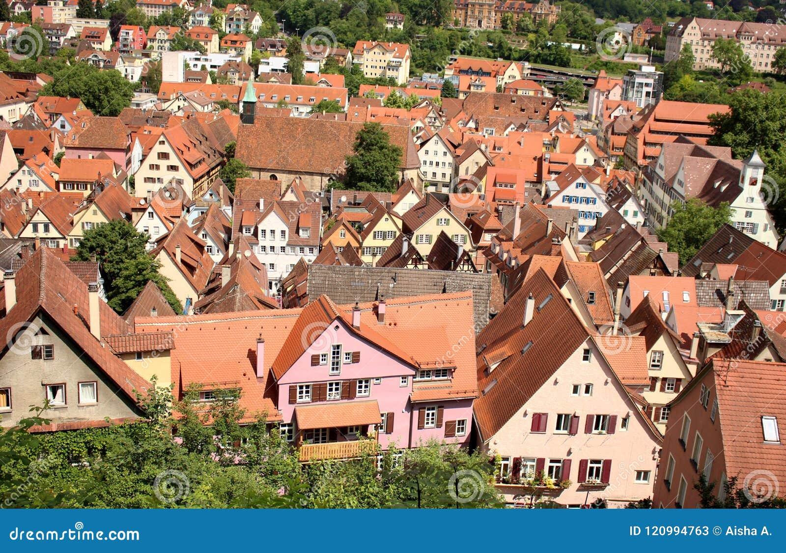 Bingen TÃ ¼ of Tübingen, Duitsland