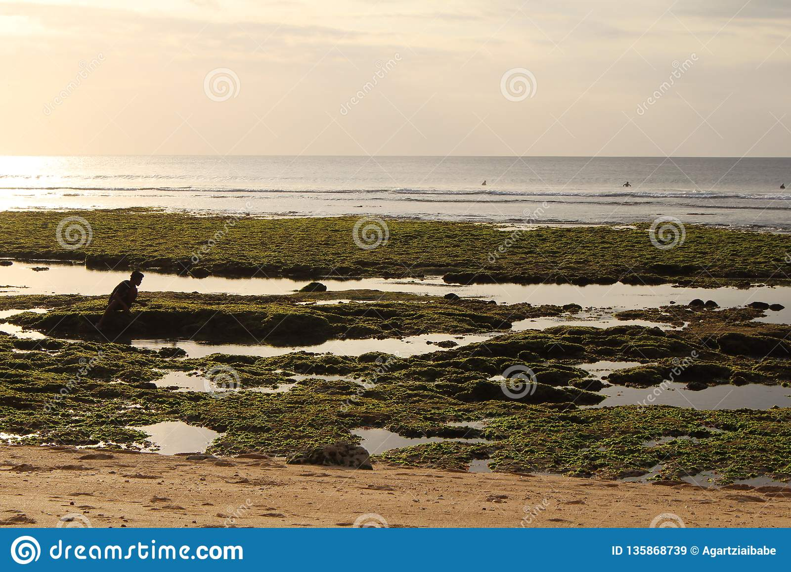 Bingin plaża, Bali, Indonezja