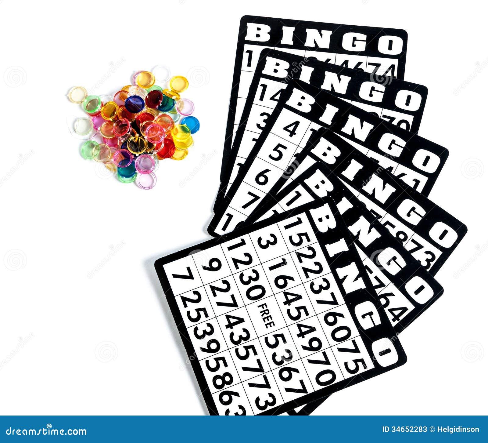 Bingo Cards Stock Photos - Image: 34652283