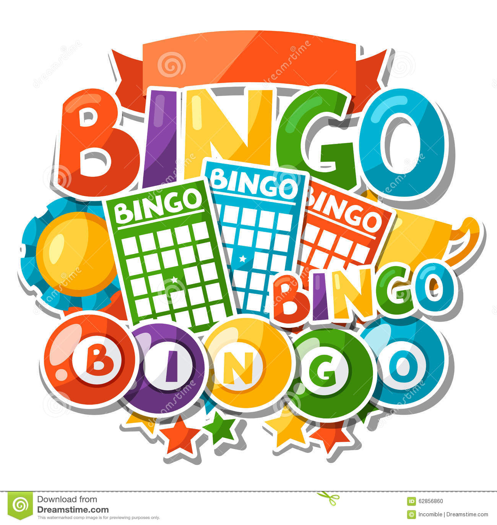 free bingo clipart downloads - photo #36