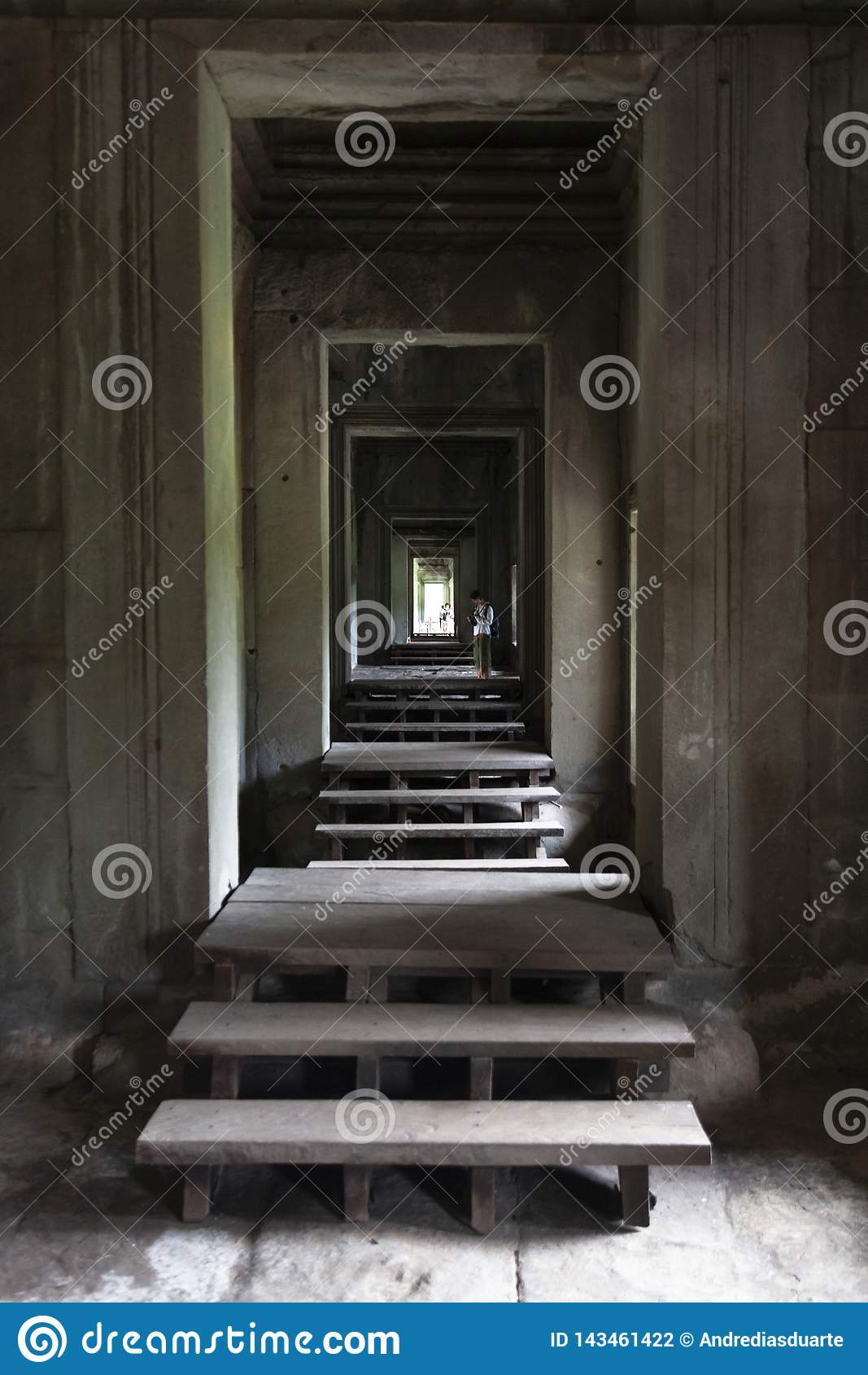 Binnen Angkor Wat