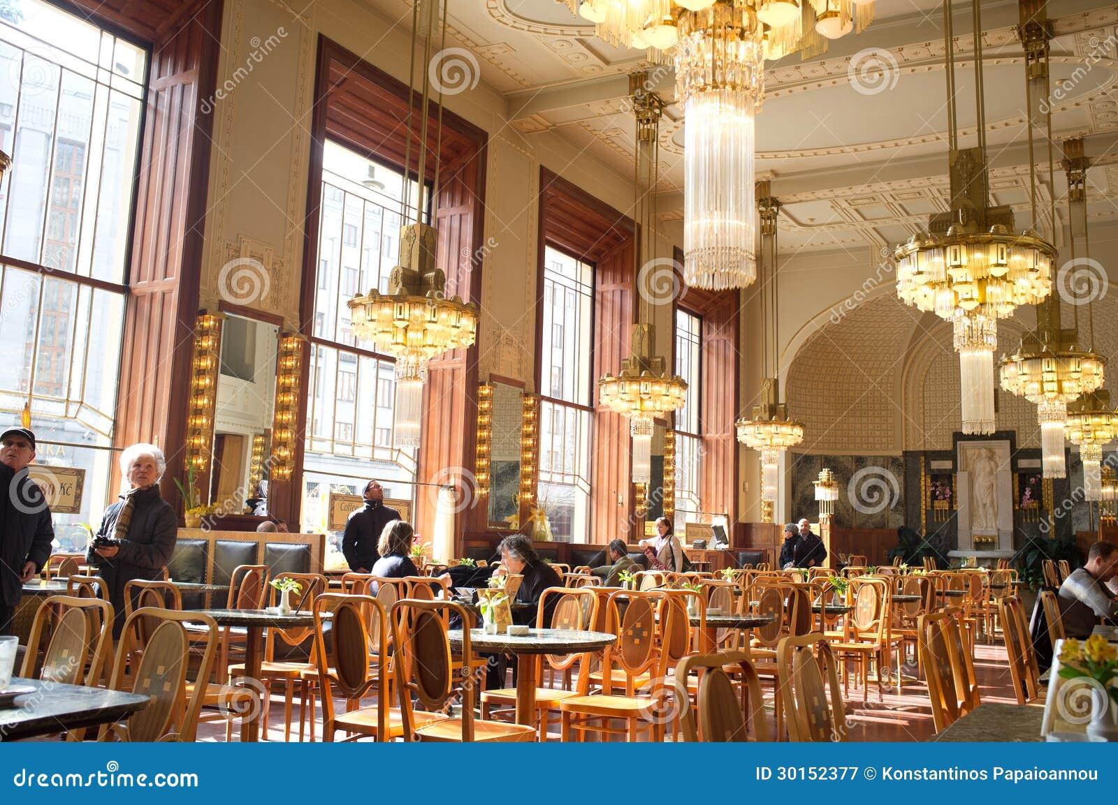 Het gemeentelijke huis in praag redactionele fotografie afbeelding 30152377 - Koffiebar decoratie ...
