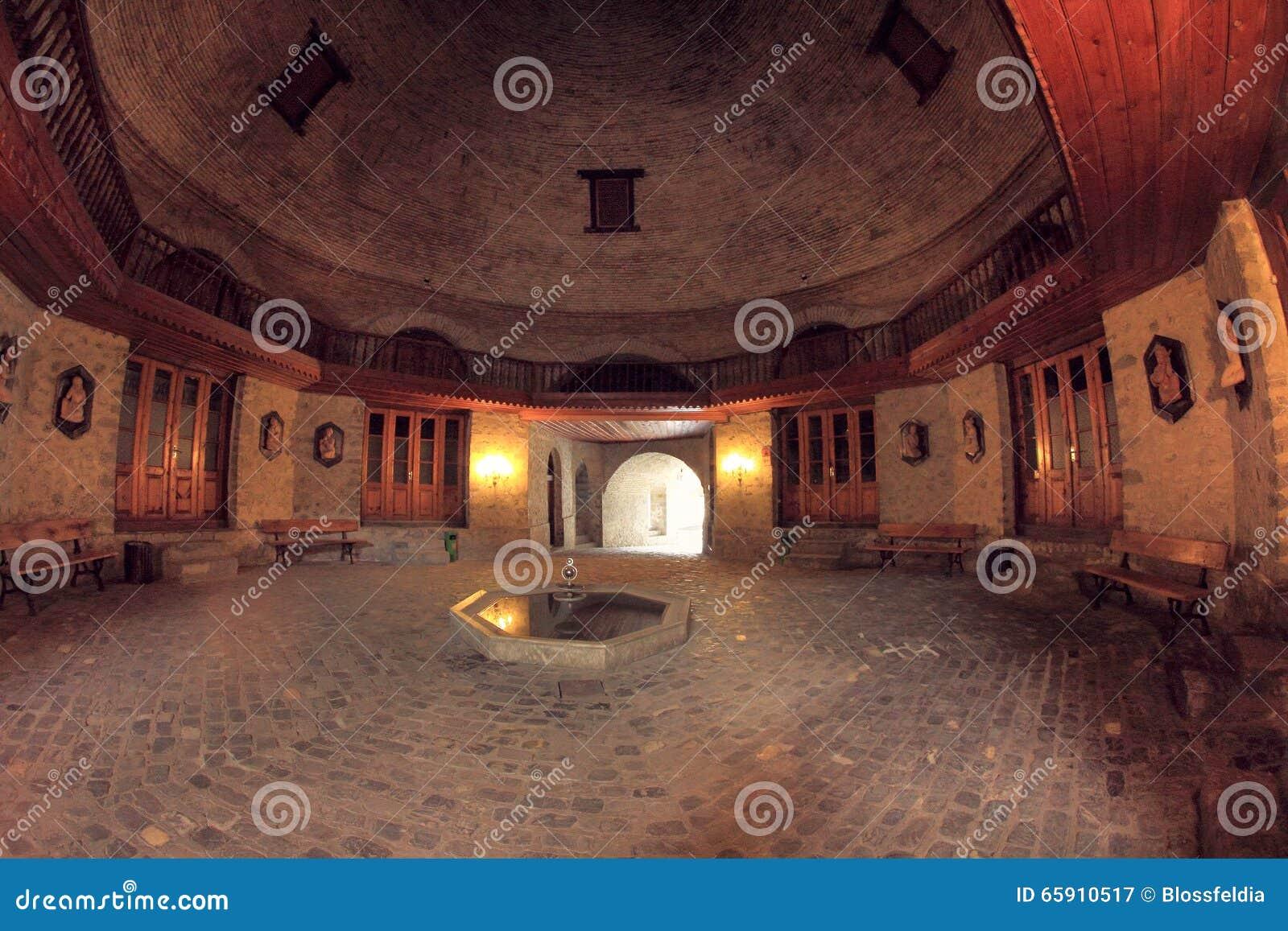 Lastest Yukhari Caravanserai In Sheki Town Azerbaijan
