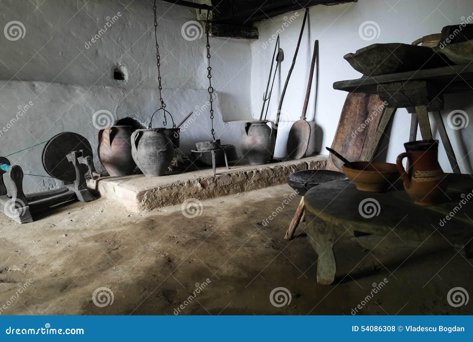 Binnen van Constantin Brancusi-huis
