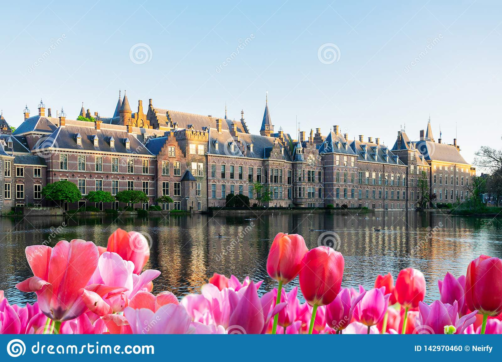 Binnenhof - holländsk parlament, Holland