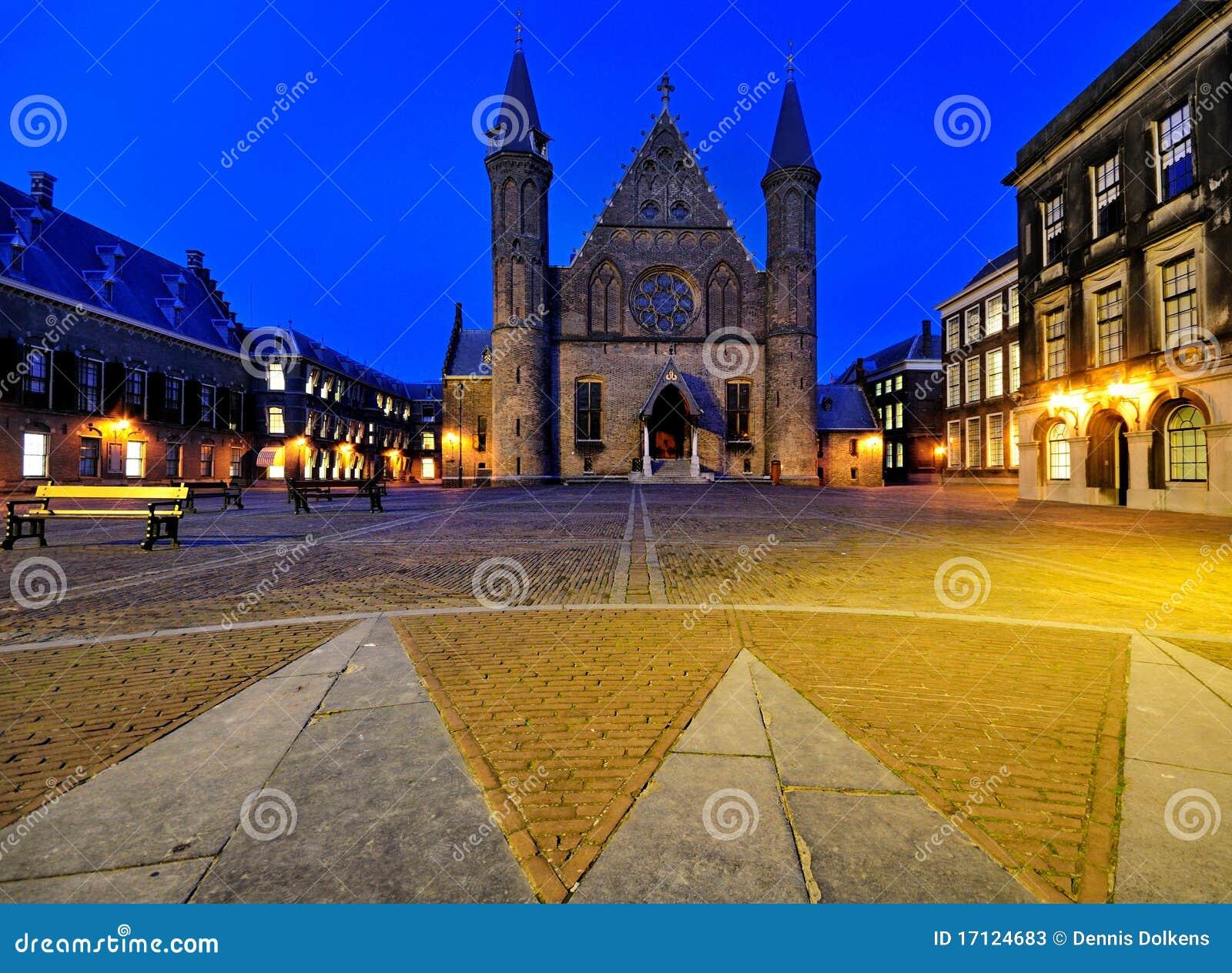 Binnenhof by Night, The Hague