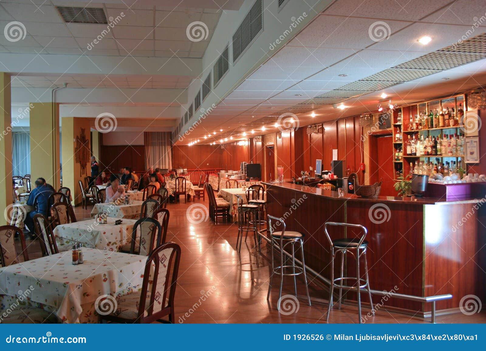 Binnenland 2 van het restaurant