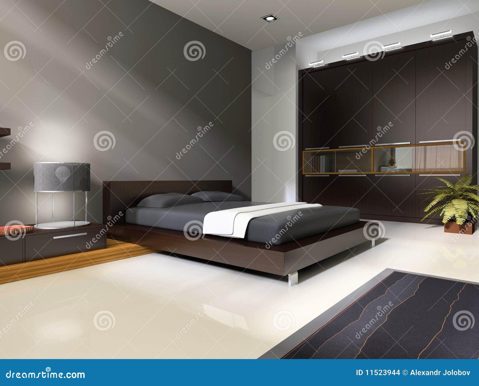 Stock Afbeeldingen: Binnenland aan slaapkamers