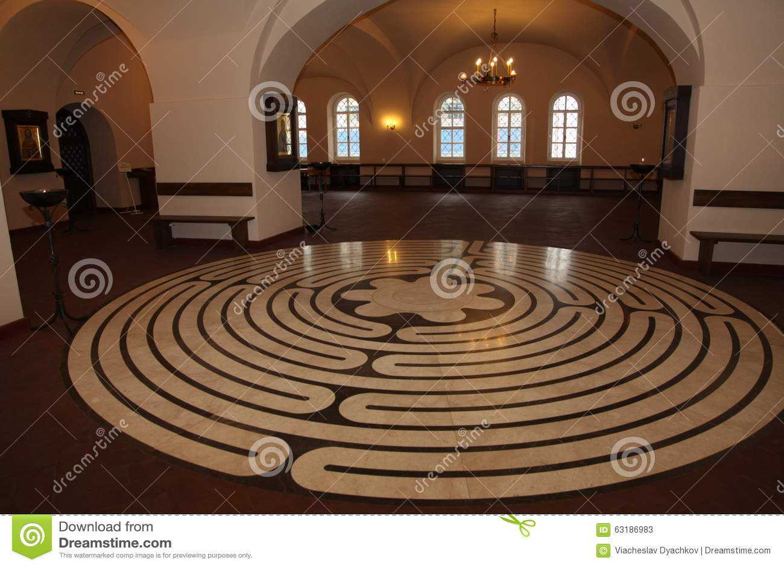 Binnenland, in de oude Russische traditionele orthodoxe kerk