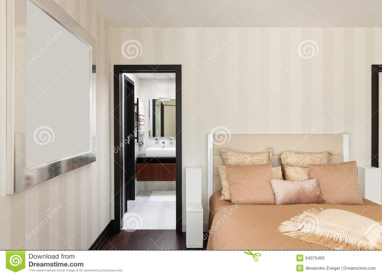 Binnenland, luxeslaapkamer