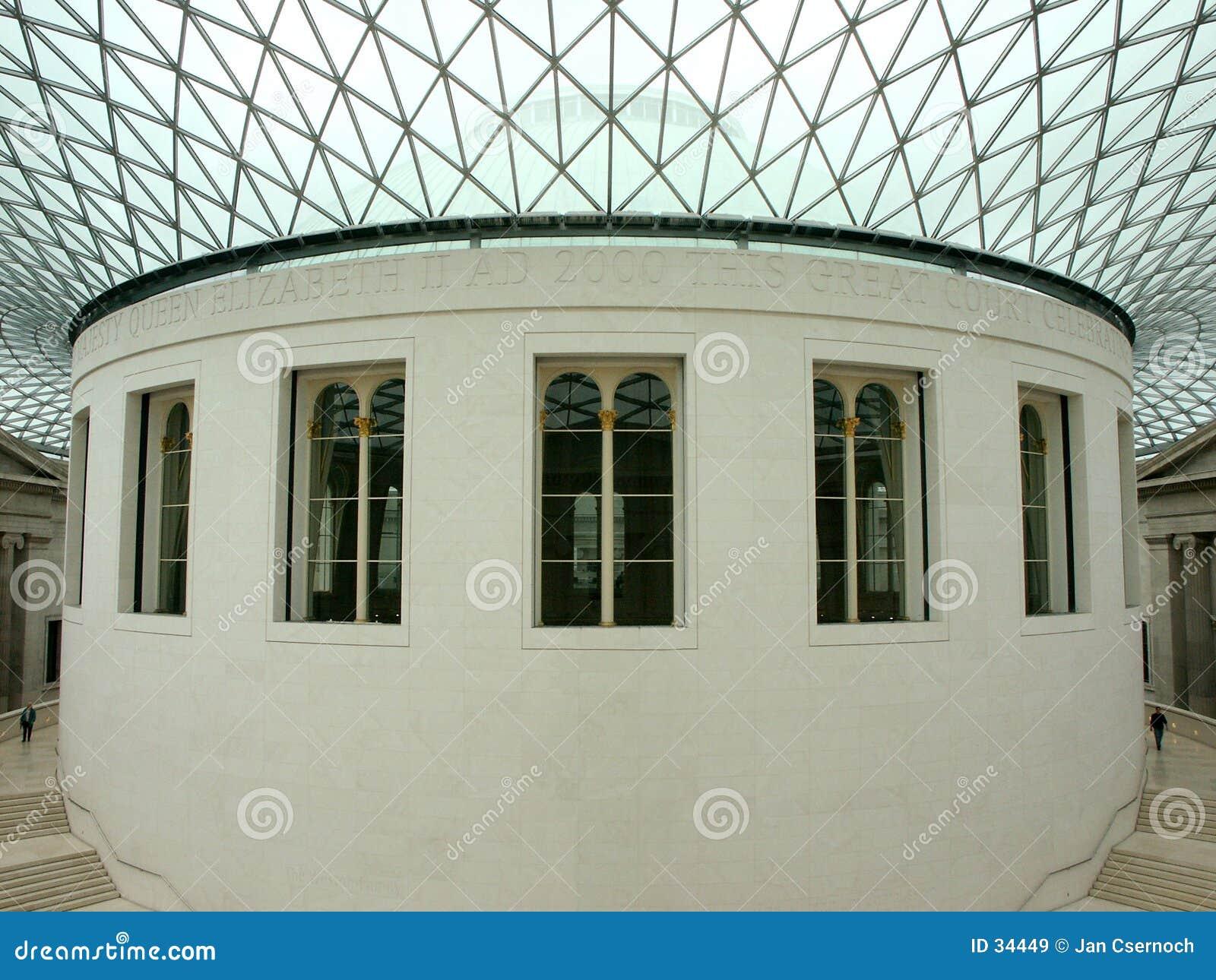 Binnenland van British Museum