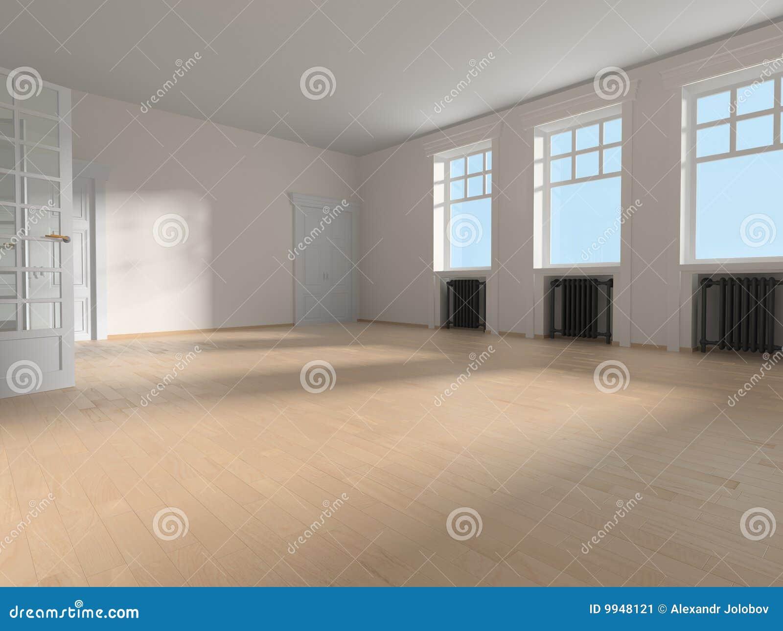 Binnenland van de ruimte stock illustratie afbeelding bestaande uit parket 9948121 - Ruimte van het meisje parket ...