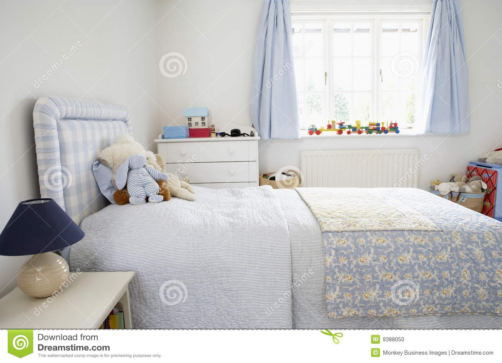 binnenland van de slaapkamer van het kind