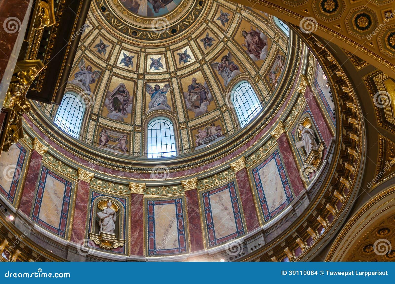 Binnenland van St. Stephen Basiliek