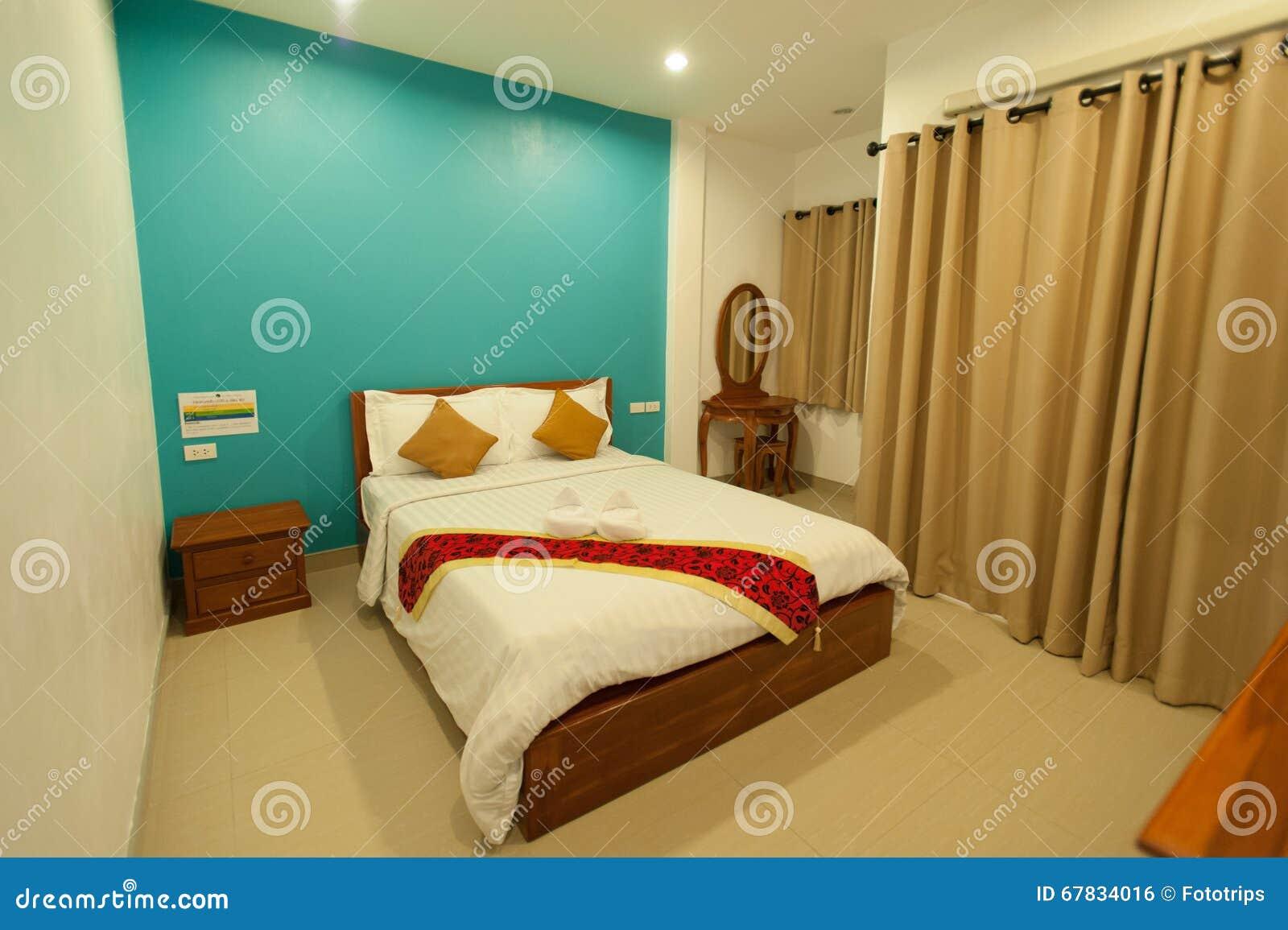 Moderne Slaapkamer Ontwerpen : Binnenlands ontwerp grote moderne slaapkamer stock foto