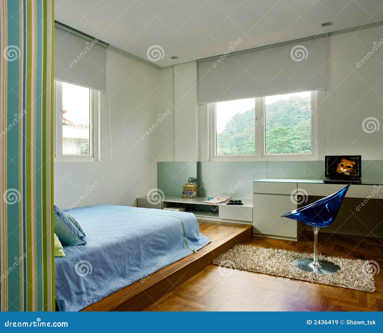 Binnenlands ontwerp   slaapkamer royalty vrije stock afbeeldingen ...
