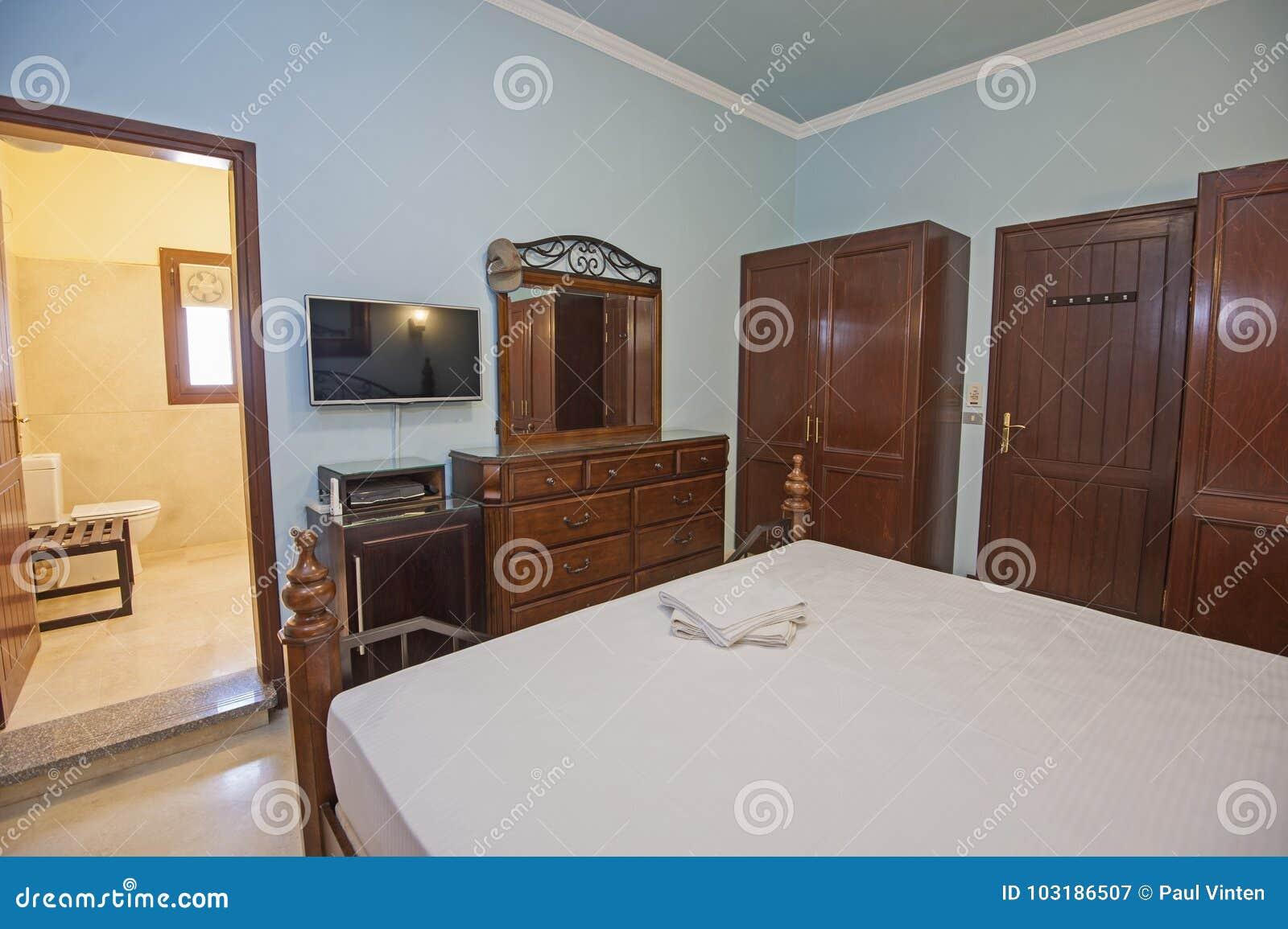 binnenlands ontwerp van engels reeksslaapkamer binnenshuis