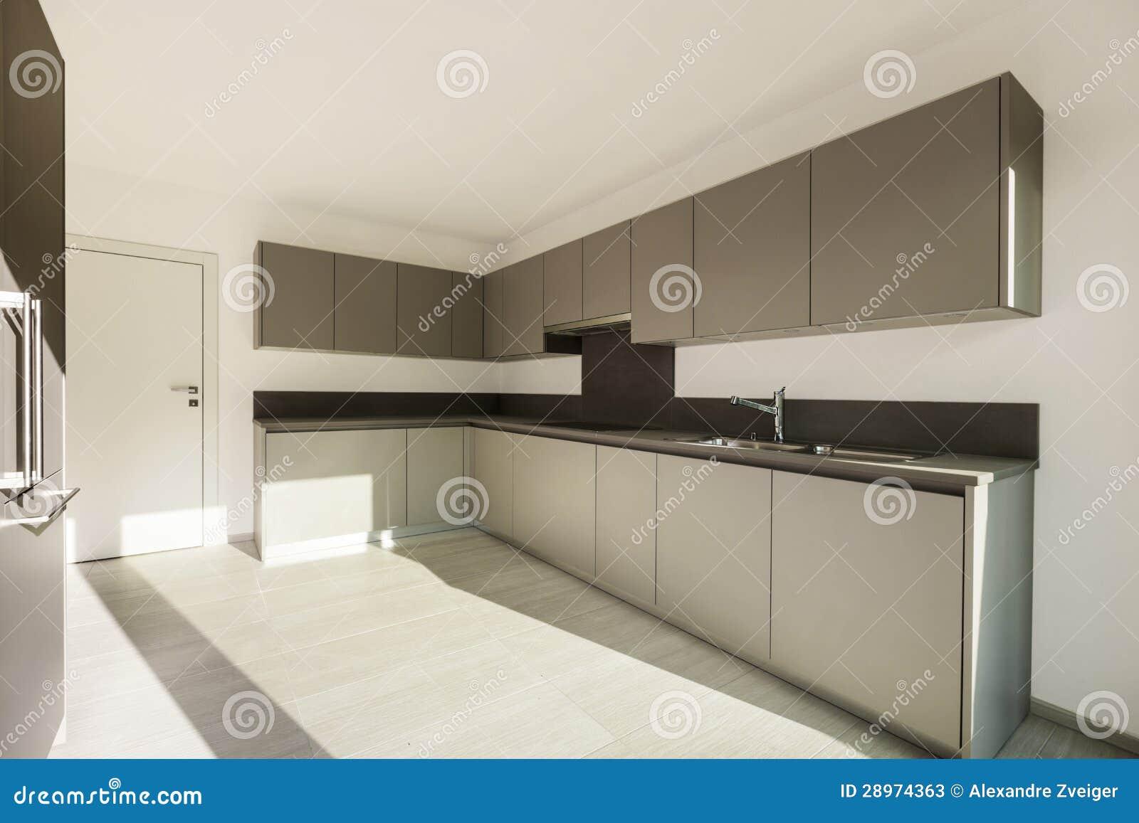 Moderne Keuken FotoS : Binnenlandse, Moderne Keuken Stock Foto's – Afbeelding: 28974363