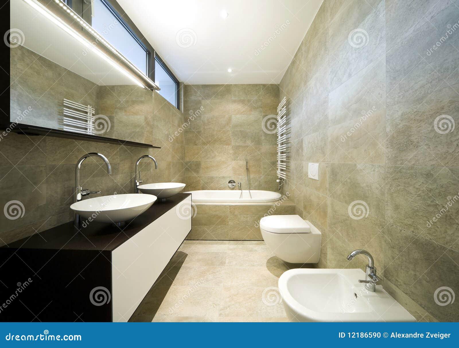 Binnenlandse mooie badkamers stock foto beeld 12186590 - Mooie badkamers ...