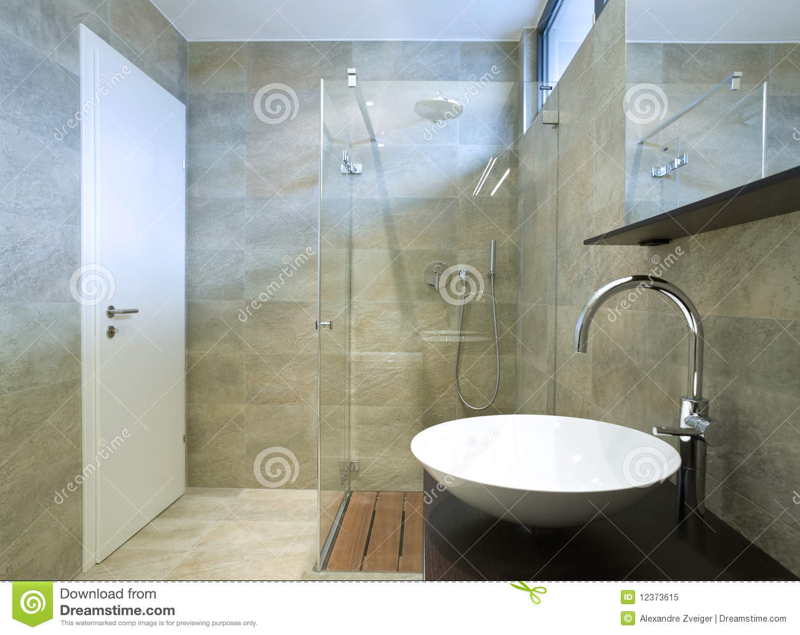 Binnenlandse mooie badkamers royalty vrije stock foto afbeelding 12373615 - Badkamers ...