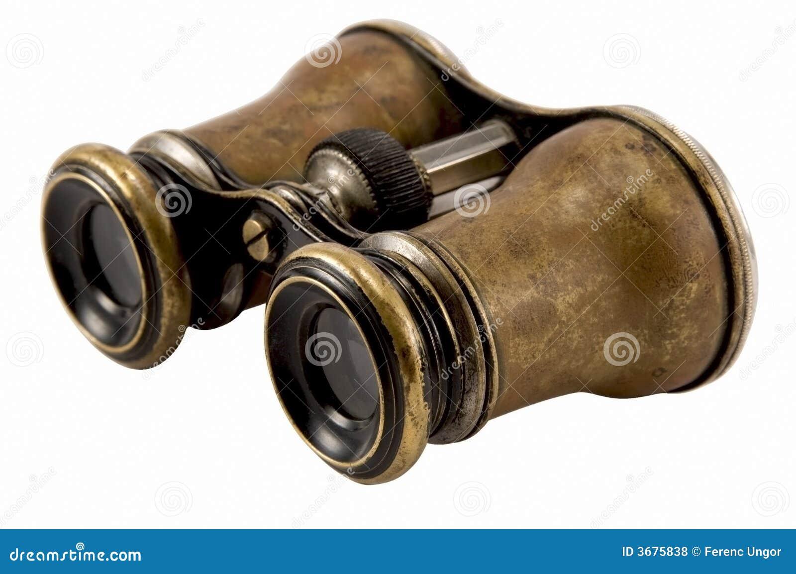 Download Binocolo antico fotografia stock. Immagine di età, lungo - 3675838