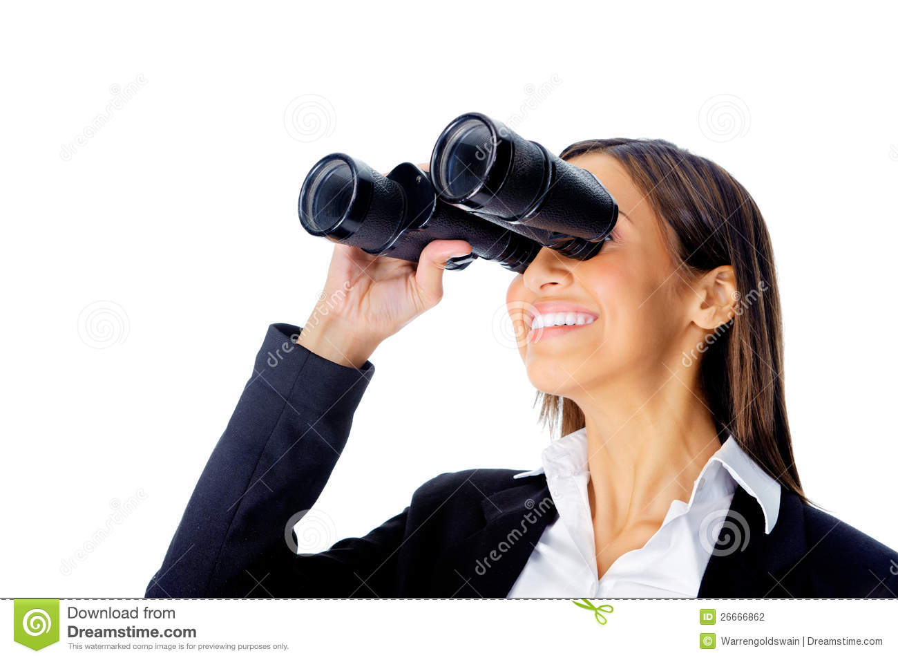 single ladies and searching with binoculars