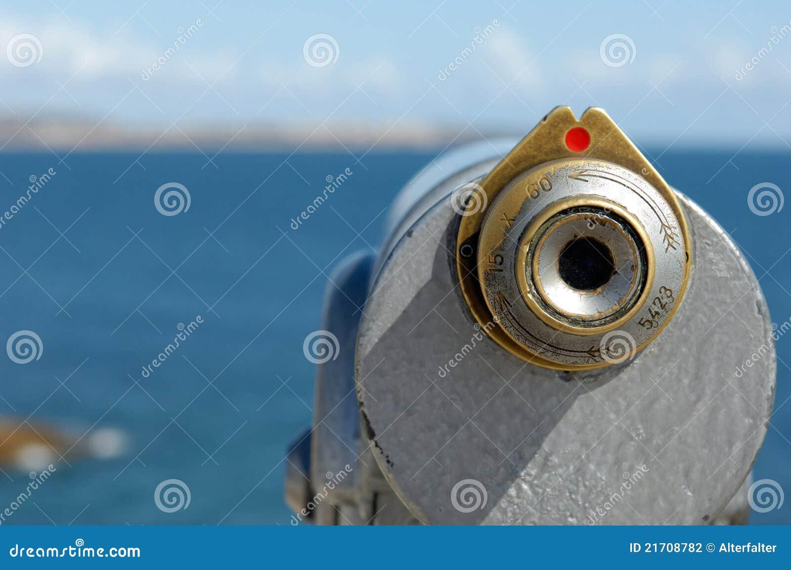 Binocular at the coast stock photo. Image of attack ...
