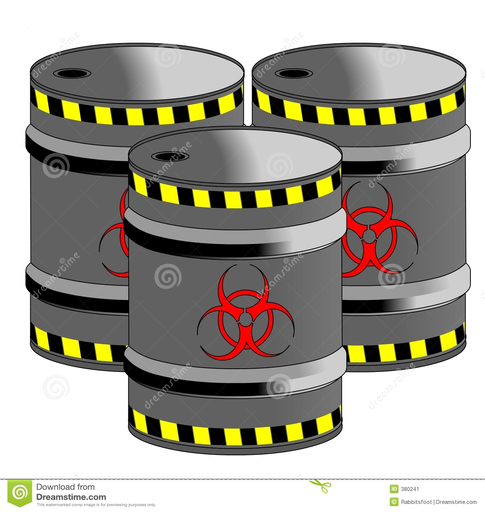 Bio barils de risque