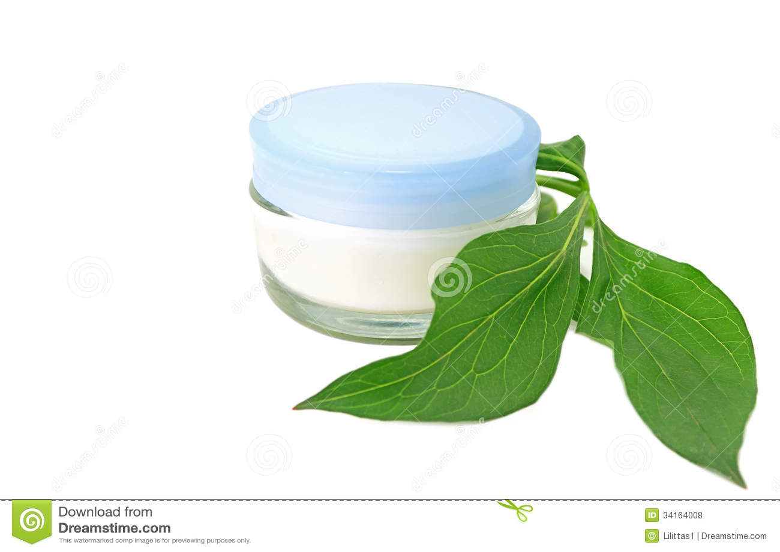 Bio- cosmetico naturale crema di cura di pelle