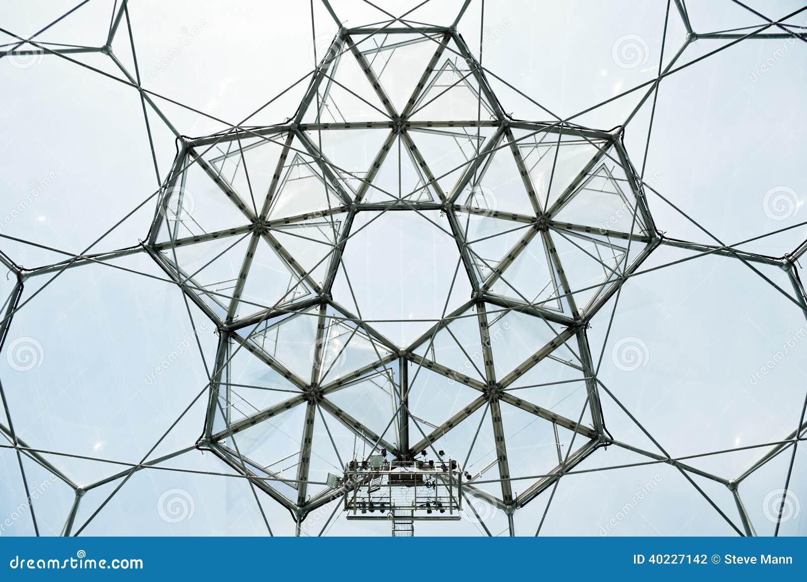 Bio Dome Architecture Stock Photo Image Of Eden