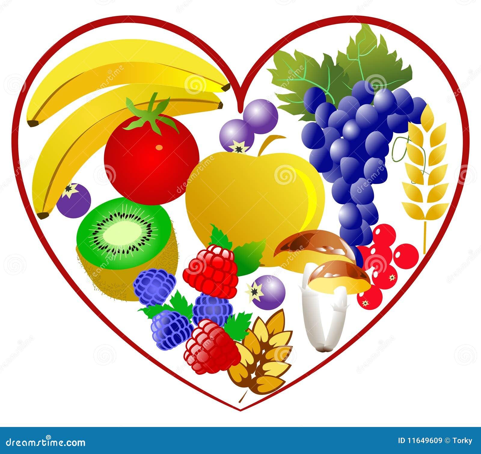 bio food  healthy heart stock vector illustration of healthy eating clip art high choleterol healthy eating clipart borders