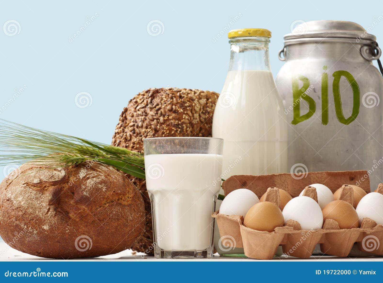 Bio Food Staples window Display