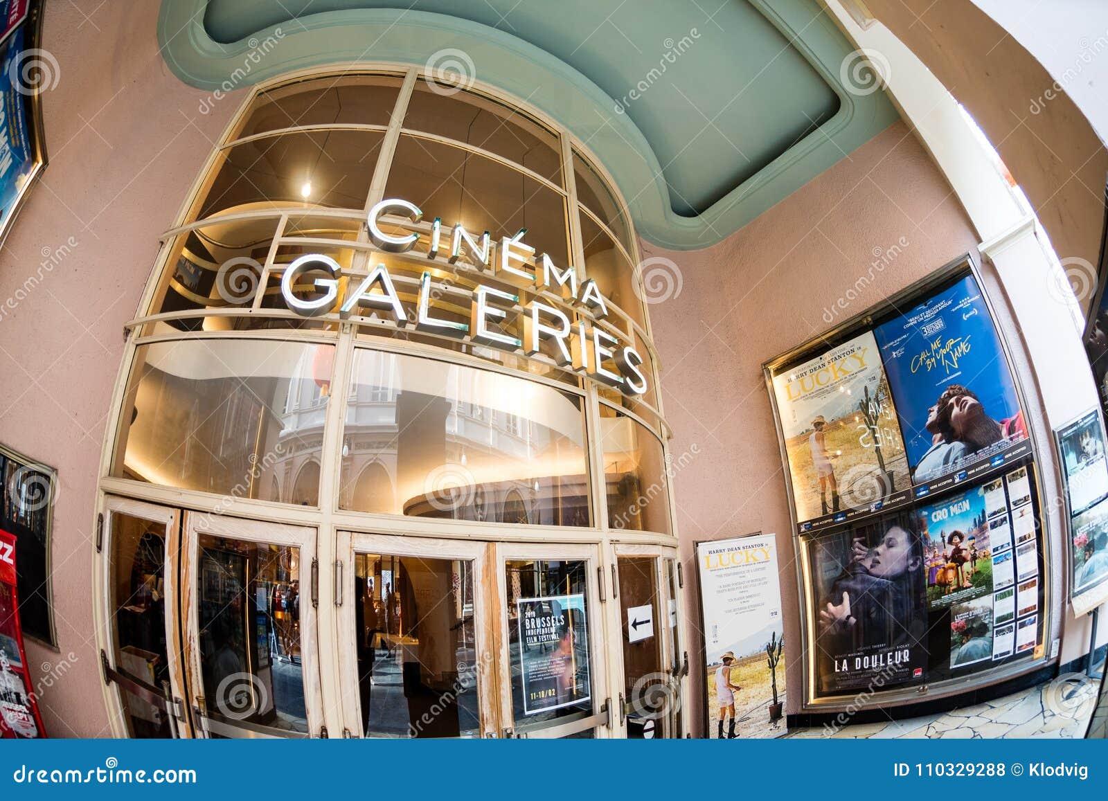 Bio Galeries på Galeries Royales Helgon-Hubert