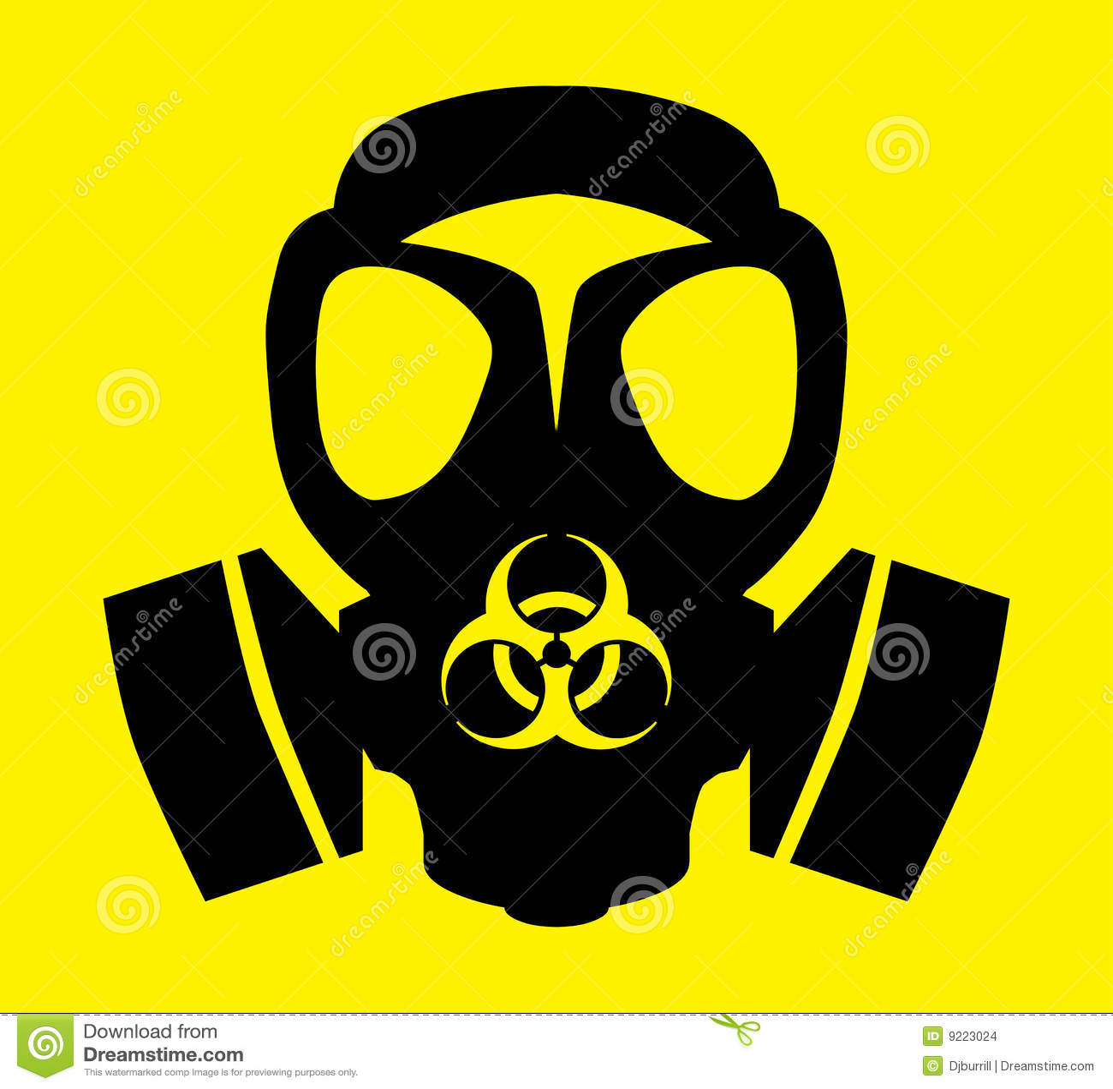 Bio hazard gas mask symbol stock illustration illustration of bio hazard gas mask symbol biocorpaavc Images