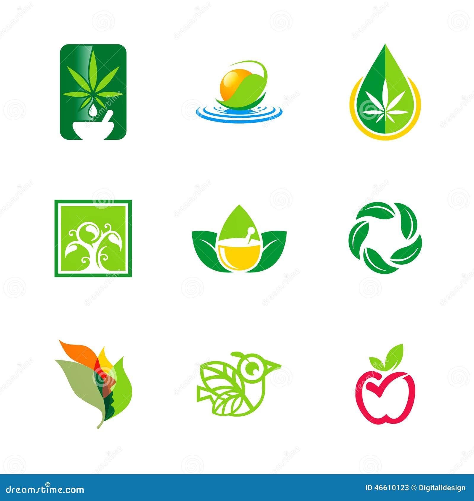 bio logos di ecologia dellambiente naturale della foglia