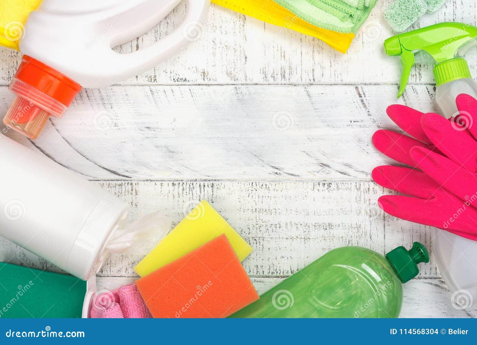 Bio- rifornimenti di pulizia naturali organici Salvo il concetto del pianeta