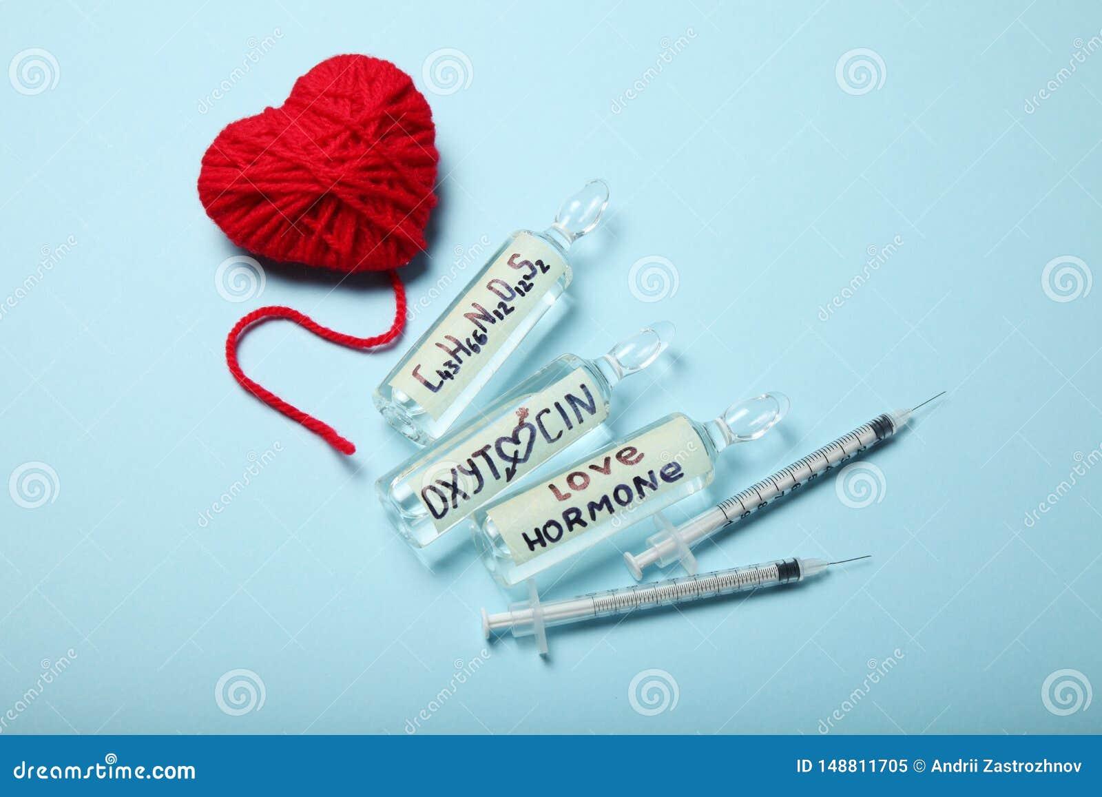 Biochemistry blood hormones, love and oxytocin