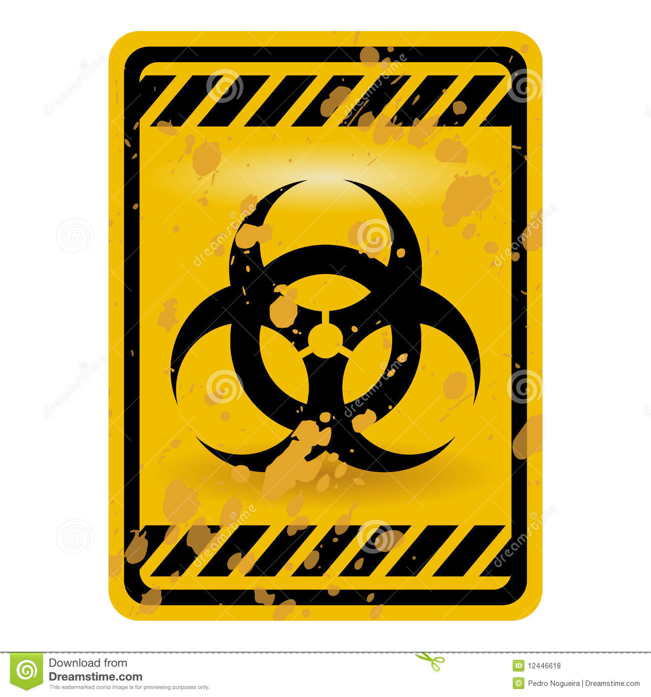 Biohazard sign stock vector illustration of hazard isolation biohazard sign biocorpaavc Image collections