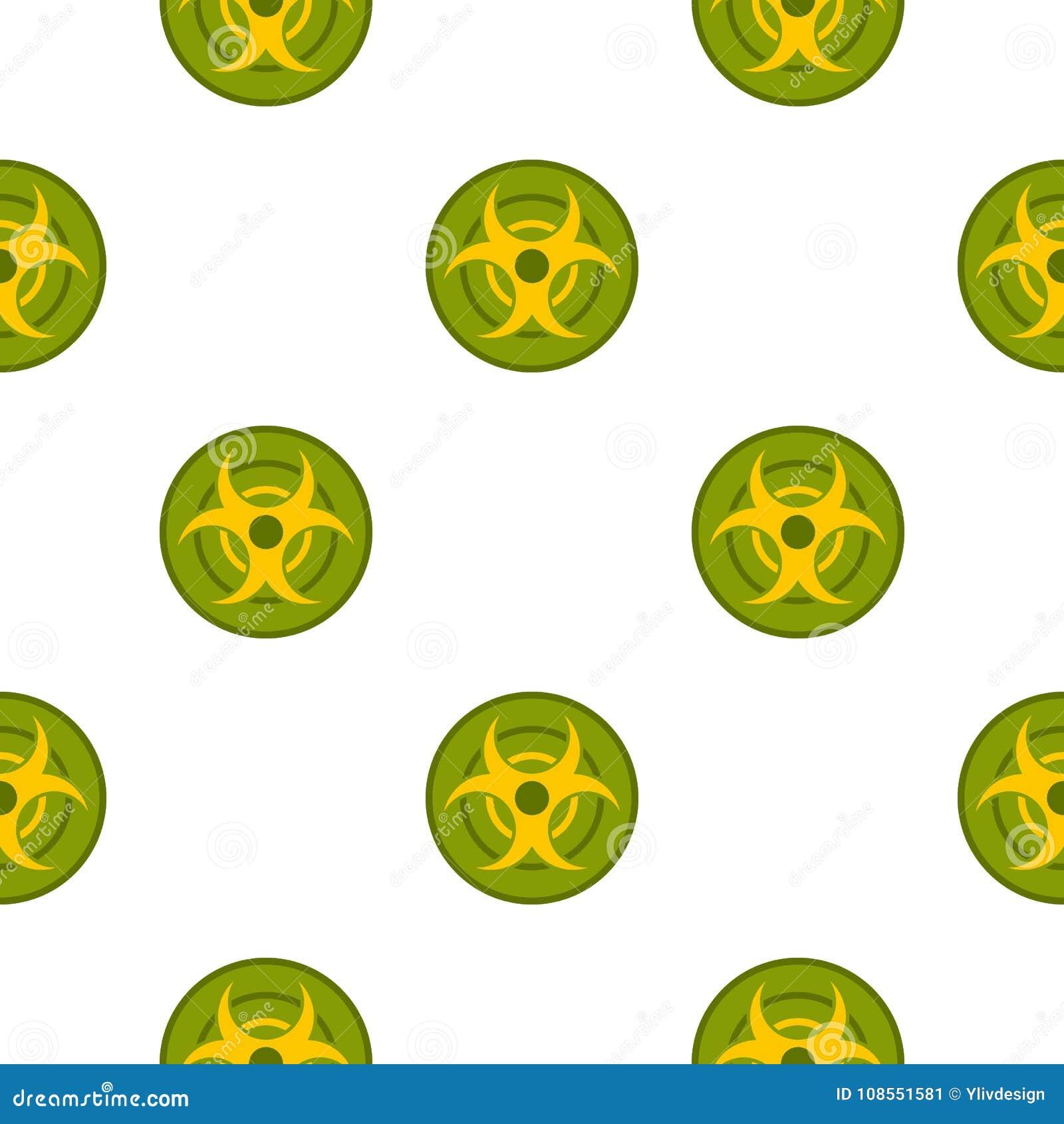 Biohazard symbol pattern seamless stock vector illustration of biohazard symbol pattern seamless biocorpaavc Images