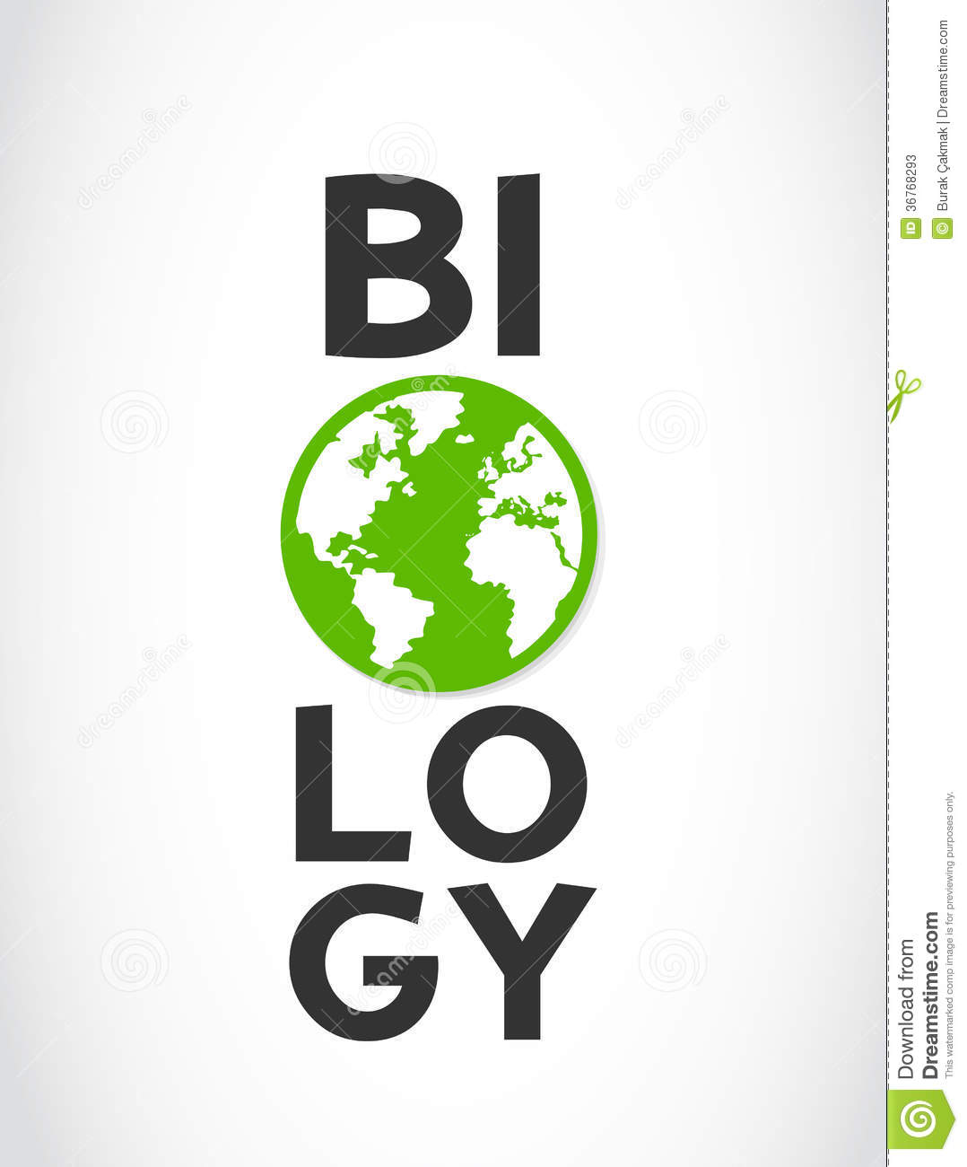 biology concept Biology literally means the study of life there are many different types of living organisms, environments, and combinations of genetic material the science of biology includes all information related to studying living things, but a biologist does not and cannot study every facet of all living things.