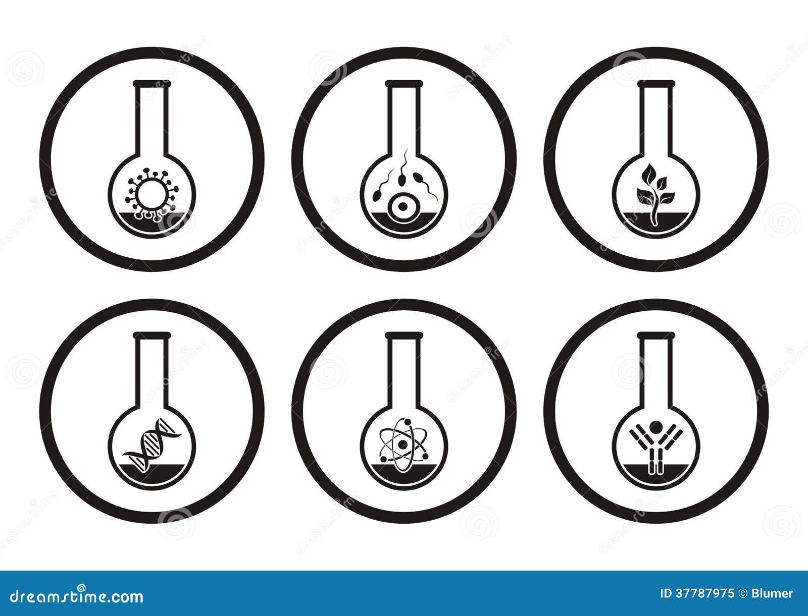 Biology icons