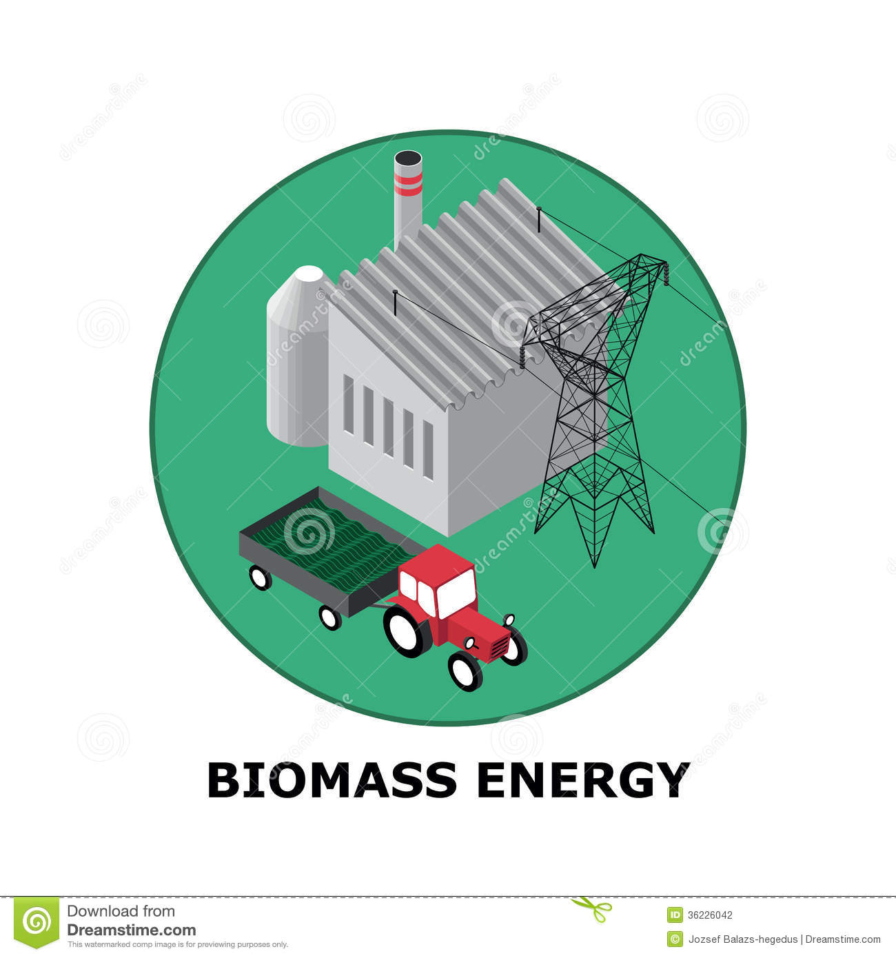 Biomass Energy, Renewable Energy Sources - Part 5 Stock Photography ...