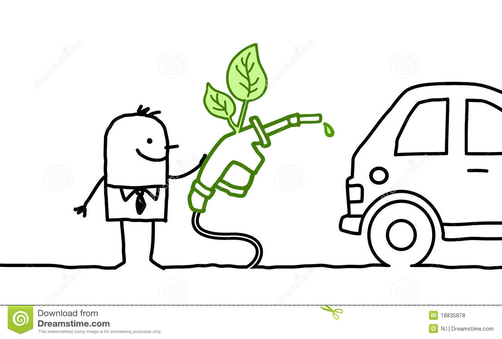 Biopaliwo mężczyzna