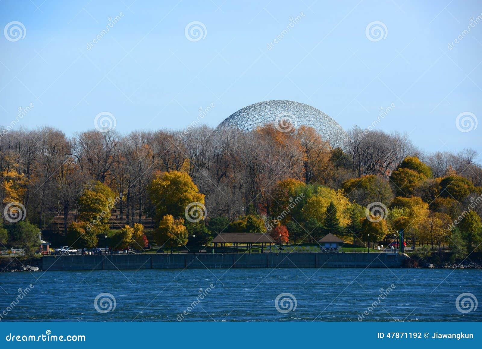 Biosfera di Montreal a Montreal, Quebec, Canada
